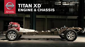 nissan titan 2016 nissan titan xd engine and chassis youtube