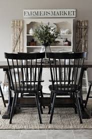 Rustic Dining Room Table And Chairs by Best 20 Black Dining Tables Ideas On Pinterest Black Dining