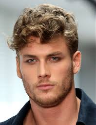 hairstyles men with curly hair ideas haircuts for men