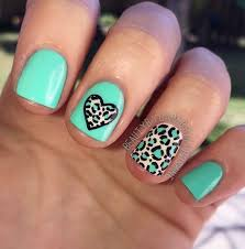 different nail colors and designs