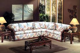 Sunroom Sofas Caliente Sectional Rattan And Wicker Sunroom Set From Classic