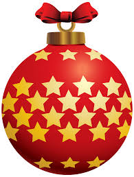 red christmas ball with stars png clipart best web clipart