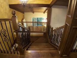 Wood Stair Banisters Iron U0026 Wood Stair Railing Contractors Laguna Niguel Ca