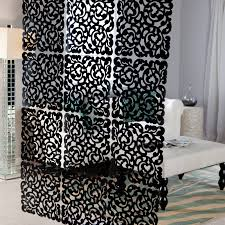 room awesome hanging panel room dividers home design ideas fancy