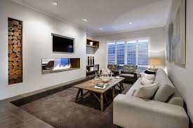 Sunken Living Rooms StepDown Conversation Pits Ideas Photos - Define family room