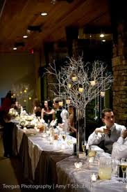 Tree Centerpiece Wedding by Guests Complaining About Having A Formal Wedding More White