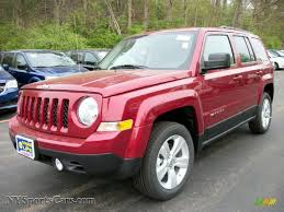 red jeep patriot 2011 jeep patriot latitude 4x4 in deep cherry red crystal pearl