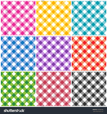 home patterns gingham patterns textures different colors thanksgiving stock
