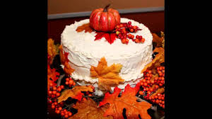 fall cake decorating ideas youtube