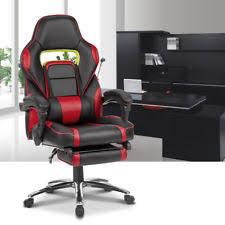 Gaming Chair Ebay Gaming Chair Recliner U0026 Costway Ergonomic High Back Racing Style