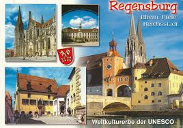 Regensburg Germany Map by Regensburg Unesco Whs U2013 My Collection Of Postcards From The World