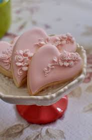 Shabby Chic Wedding Gifts by 2 Dozen Folk Art Heart Cookie Favor Shabby Chic 2 Wedding Favors