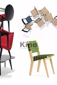 replica wood dining chair risom side bandage seat chair view wood