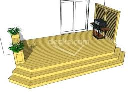 Wood Deck Design Software Free by Deck Designs With Benches Showing Post Media For Simple Wood Deck