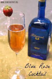 blue rose valentine u0027s day cocktail with bluecoat gin recipe i