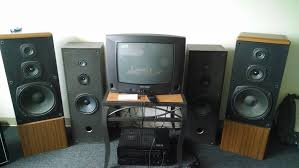 kenwood home theater system 70 of speakers from goodwill my parent u0027s old and unused tv and