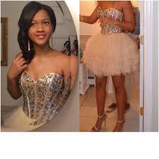 dress short prom dress studded dress 2015 short prom dress