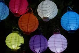 battery operated paper lantern lights 12 light lime 16 led round battery operated paper lantern w built