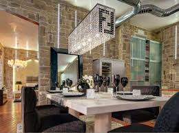 Dining Room Crystal Chandelier by Modern Contemporary Luxury Linear Rectangular Double F Island