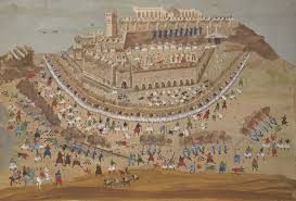 siege of king s collections exhibitions the siege of athens