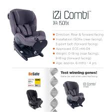 Besafe Izi Comfort X3 Review How Did Besafe Child Car Seats Perform In Crash Tests