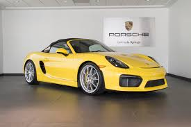 porsche boxster spyder 2016 2016 porsche boxster spyder for sale in colorado springs co p2808