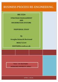 Business Process Reengineering Job Description Business Process Re Engineering Essay