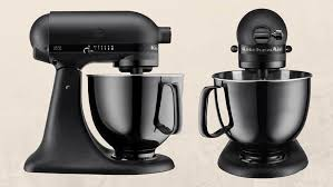 black tie stand mixer kitchenaid released an all black stand mixer and changed the game