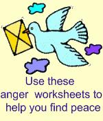 free anger management worksheets letting go of anger