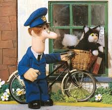 Postman Pat Duvet Pictured The Real Postman Pat And His Ginger And White Cat