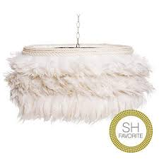 feather chandelier feather chandelier white scenario home