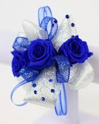 royal blue corsage royal blue corsage