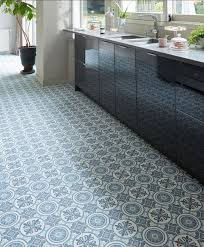 sol vinyle cuisine perfekt sol carreau ciment haus design