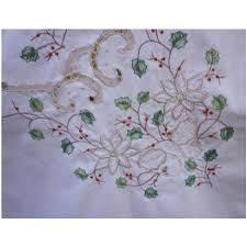 vintage lenox linens large oblong tablecloth
