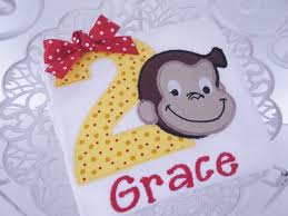 curious george birthday personalized curious george birthday shirt