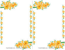 free borders for invitations free printable floral borders and frames free download clip art