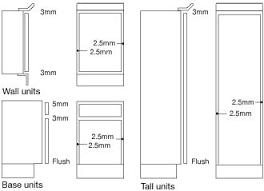 Measuring Cabinet Doors 37 Best Kitchen Standart Images On Pinterest Kitchen Modern