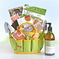 garden gift basket gardening gift basket garden tote and tea gourmet