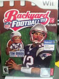 Wii Backyard Football by Backyard Discount Toy Shops