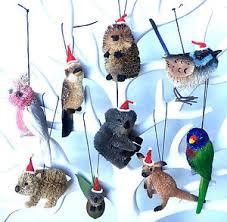 australian animal tree decorations hanging souvenir
