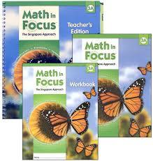math in focus grade 3 homeschool package 1st semester 047803