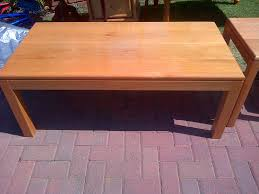 used coffee tables for sale solid oak coffee table and 2 solid oak occasional tables for sale