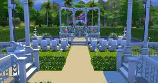 wedding arches in sims 4 white wedding venue the sims forums