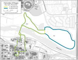 Map Run Route by Run With A Researcher University Of Oregon