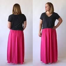 the everyday maxi skirt easy sewing tutorial it u0027s always autumn