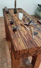 Traditional Workbench Woodworking Plan Free Download by Best 25 Wood Work Bench Ideas Ideas On Pinterest Diy Workbench