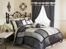 Grey And Black Bedroom Furniture Bedroom Mesmerizing Grey And White Color Combined Design Of