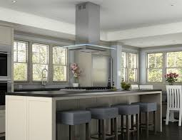 Cooktop Vent Hoods Kitchen Cool Island Kitchen Hood With Ceiling Round Range Hood