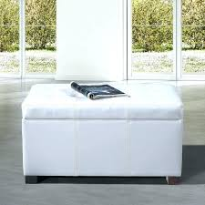 White Leather Storage Ottoman White Ottoman Coffee Table Email A Friend White Leather Storage
