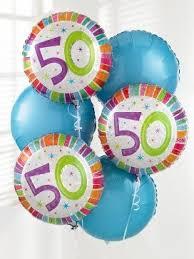 birthday balloon arrangements 50th birthday balloon bouquet aberdeen flowers